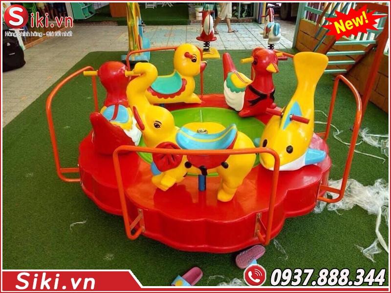 Đu quay trẻ em nhất cho bé con chơi chất lượng và an toàn