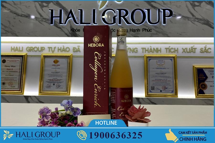 Những lưu ý khi sử dụng Nước Uống Collagen Hebora Enrich Nhật Bản